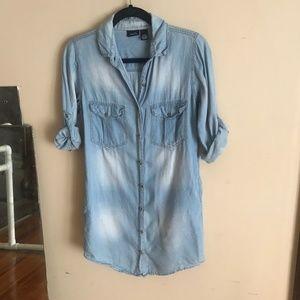 Rue21 | Small Chambray Long Shirt Tunic